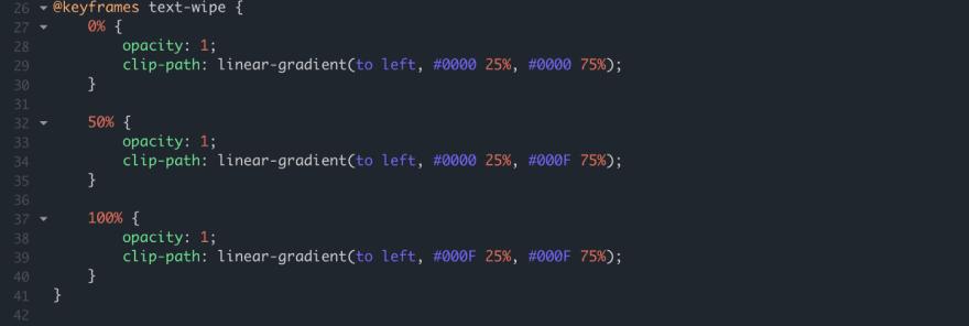 Black alpha colors. 0,0 -> 0,F -> F,F