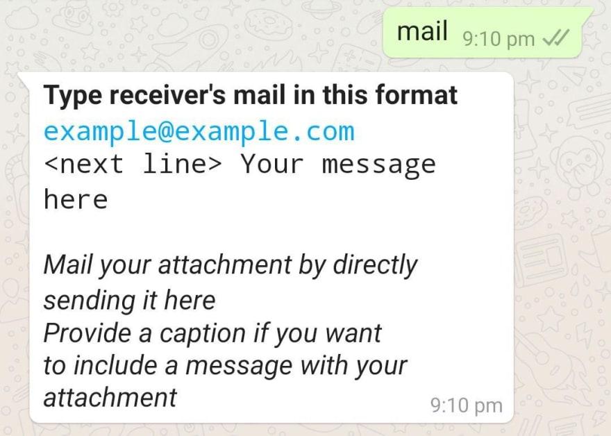 sending it