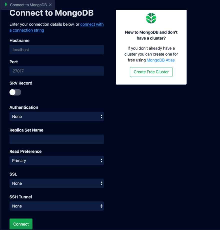 Connect to MongoDB
