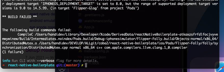 Set up an M1 MacBook Pro for React Native