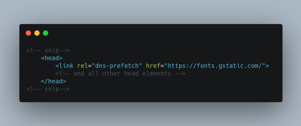 Cover image for DNS prefetch:  A Web Performance Trick