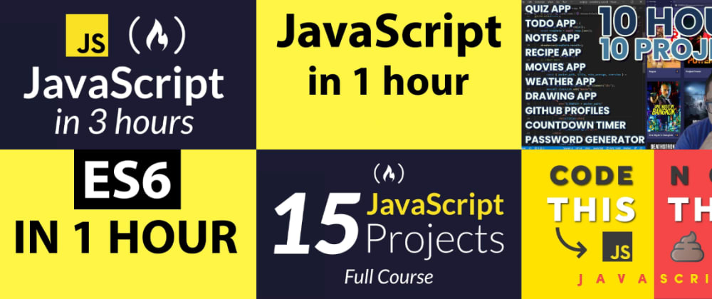 Cover image for Top 15 JavaScript Videos with Timelines