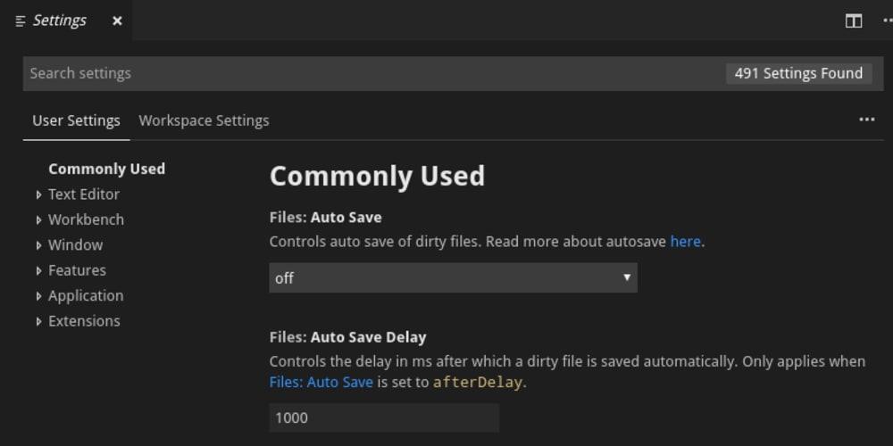 VS Code settings you should customize - DEV Community