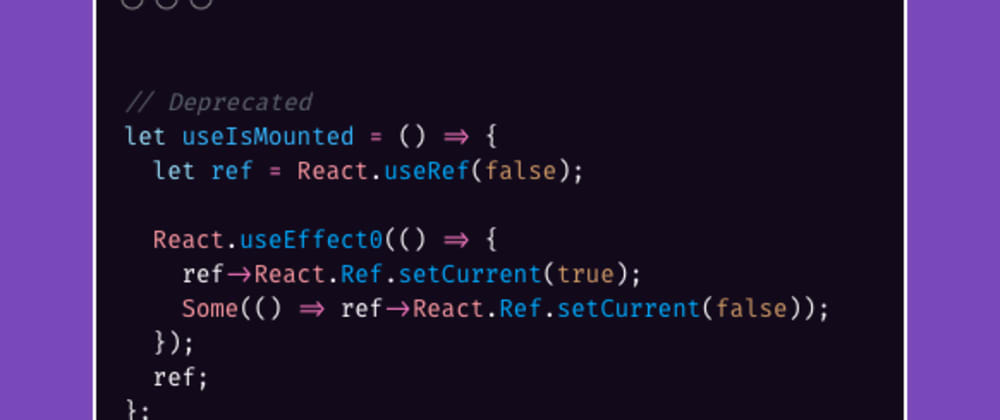 Cover image for Fixing `Deprecated: React.Ref.setCurrent`