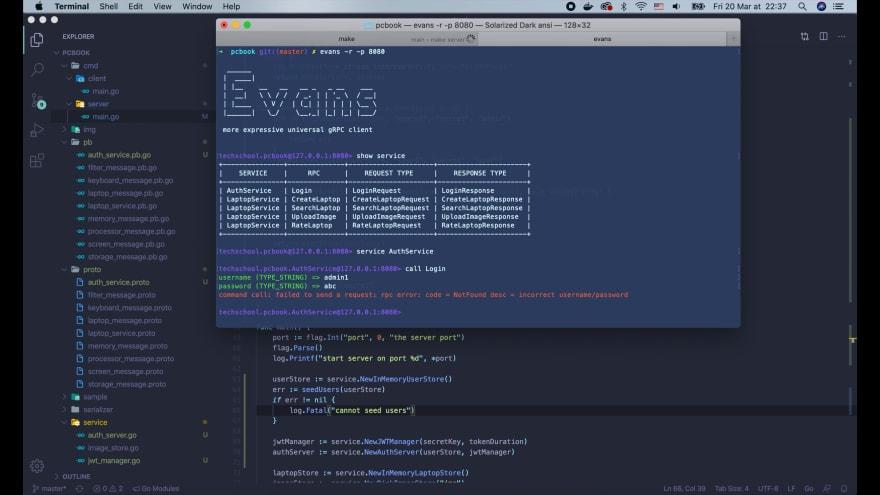 evans-incorrect-password