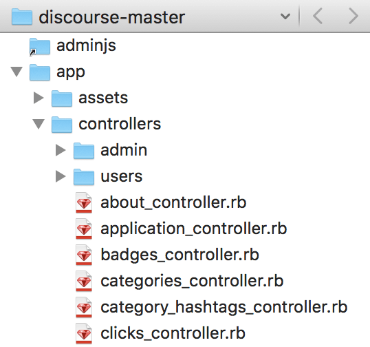 File browser in TextMate 2