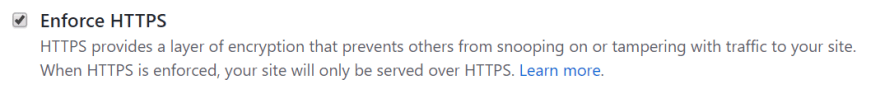 enforce https