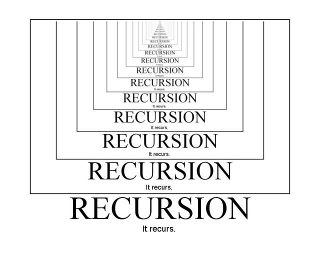 Recursion process