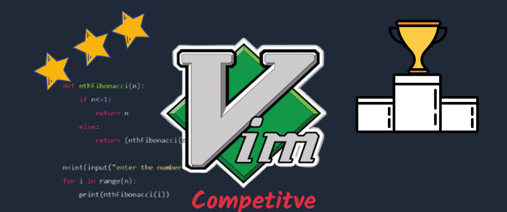 Cover image for Vim for Competitive Programming