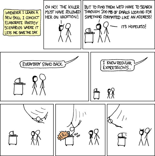 xkcd regex comic