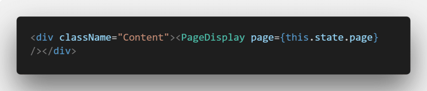 Calling Page Display