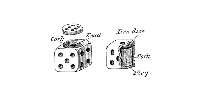 Weighted dice are simple enough to use a weighted array