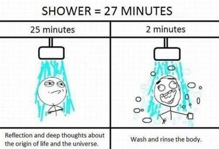 The Idea in the Shower