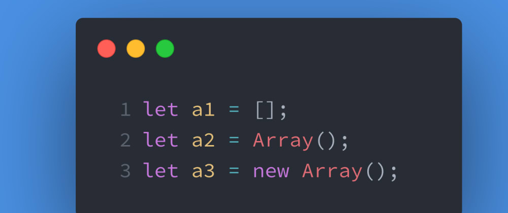 Cover image for JS Test #2: How to create an array in JavaScript