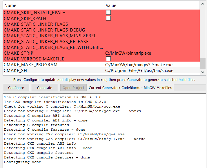 Compiling Box2D from source for Codeblock using mingw and