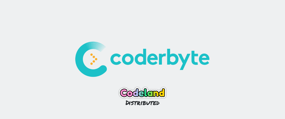 Cover image for Hi CodeLand, we're Coderbyte and we're here to help you level up your interview skills.