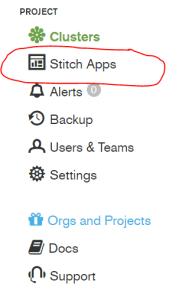 Stitch Application Selection