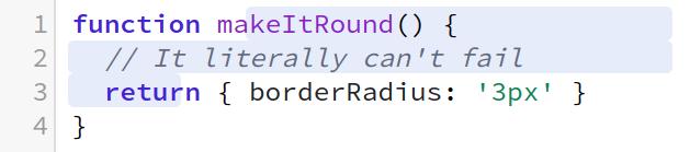 This radius isn't quite right.