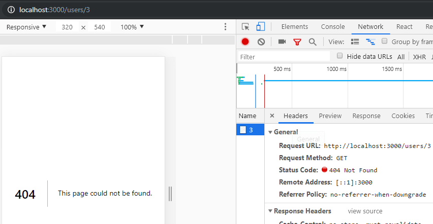 Nonexisting user right status code