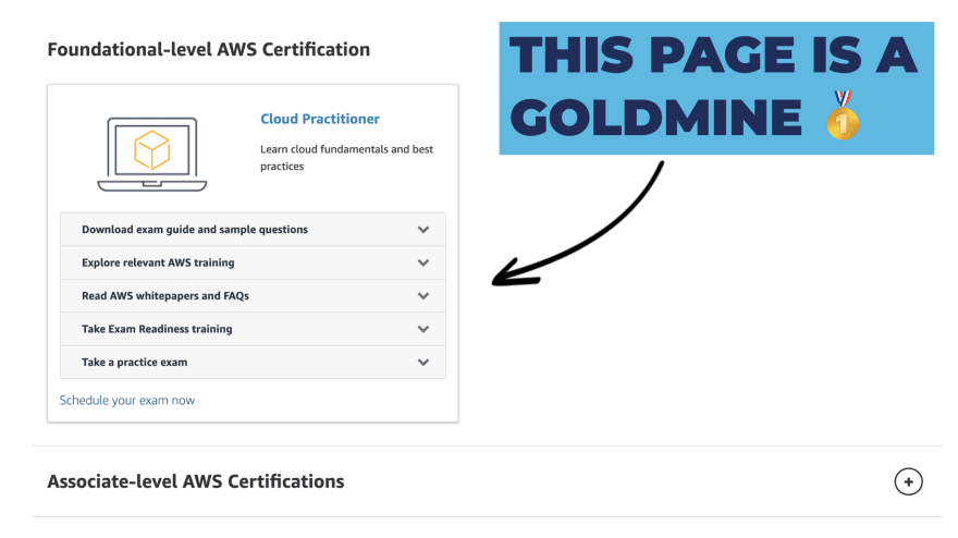 AWS Certification Page