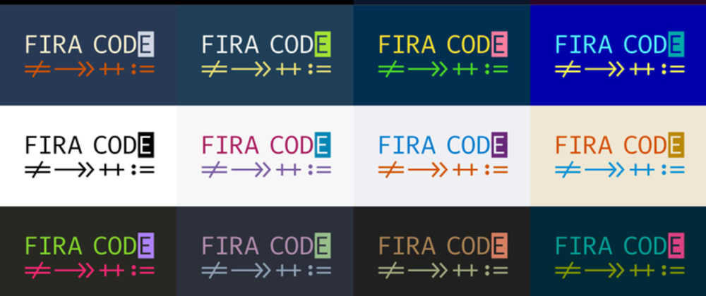 Cover image for How to Install and Use Fira Code Font - VSCode onUbuntu