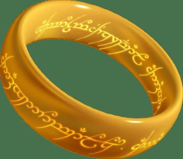 Obligatory LOTR reference ring