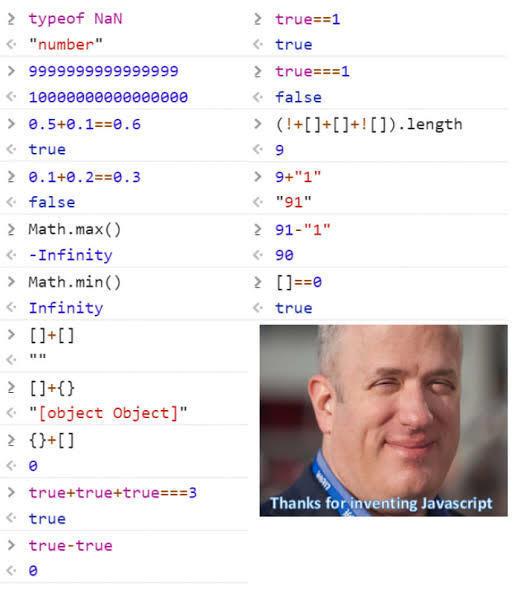 JavaScript stupid things