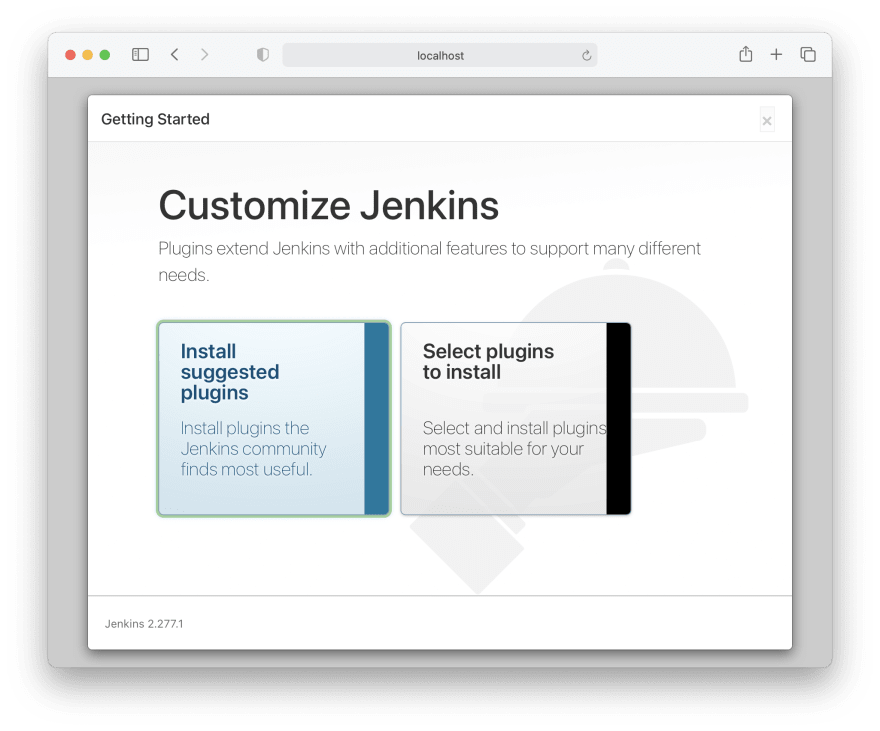 Installation of Jenkins plugins