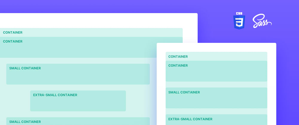 Cover image for Multiple, nested containers with CSS