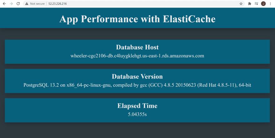 Database Response
