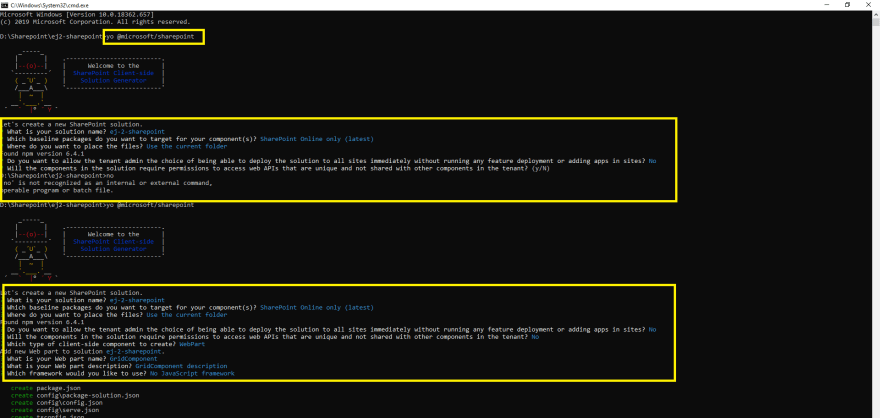 Questions asked regarding the Webpart