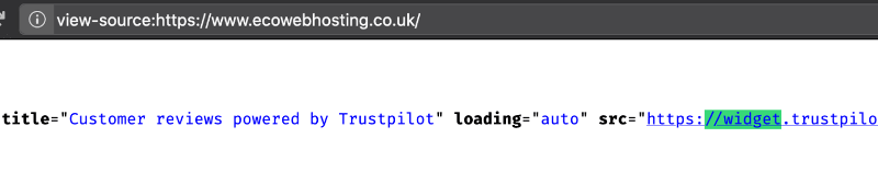 Screenshot of the source code for the file, showing the https in the proper place.