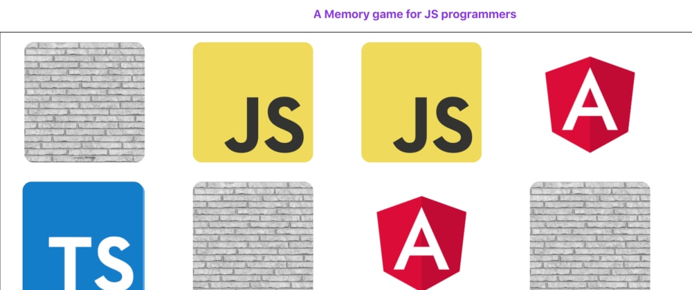 Cover image for Creating a Simple Memory Game using TypeScript & React