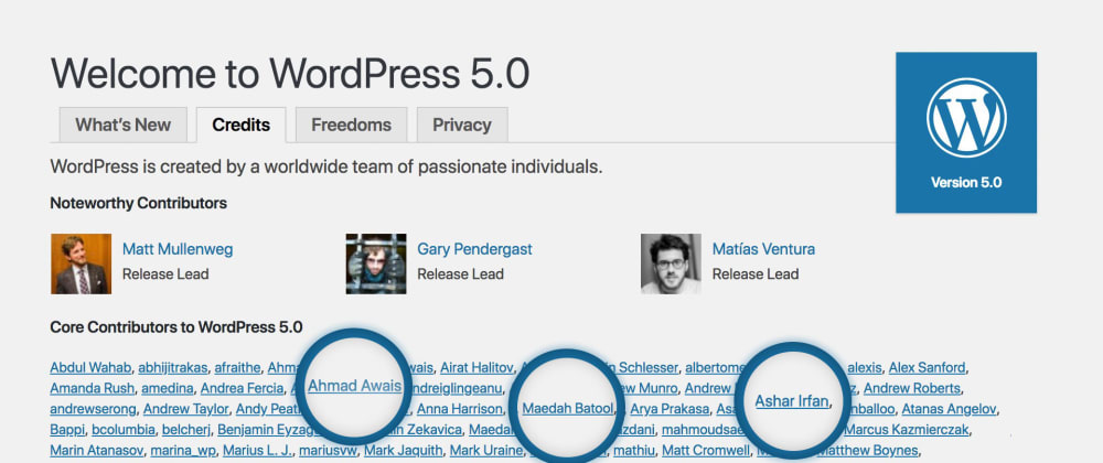Cover image for WordPress 5.0 Launched With a React.js Based Gutenberg Editor and I Got to Contribute — Yay! 🎉