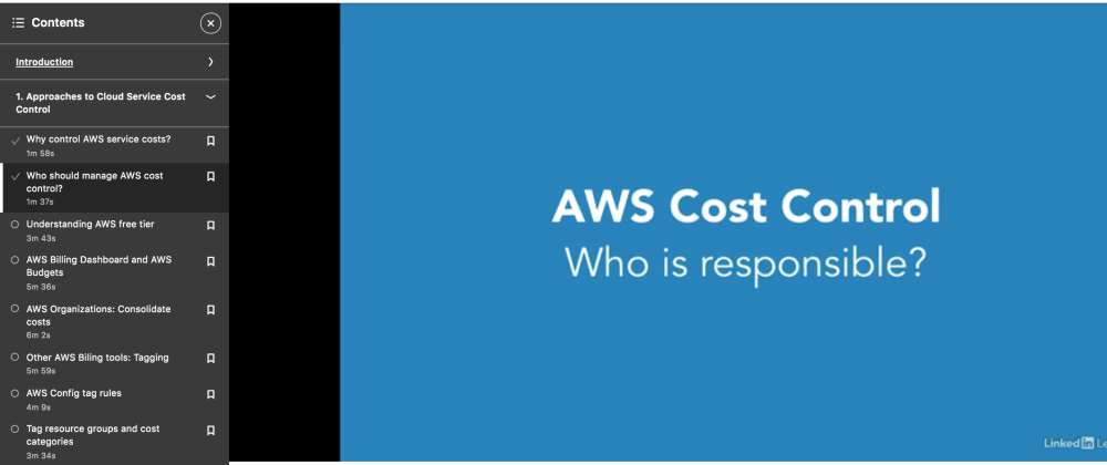 Cover image for Control AWS Costs