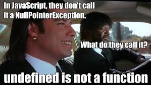 Undefined is not a function