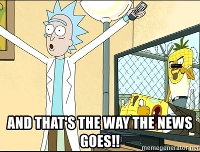 Rick and Morty News Quote