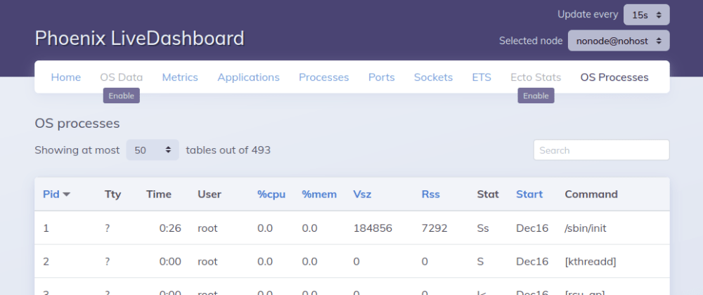 Cover image for Phoenix Live Dashboard custom page using the table component