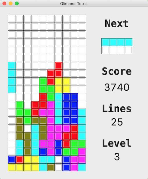 Tetris Scoring