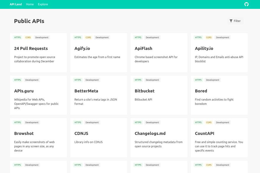 API Land screenshot