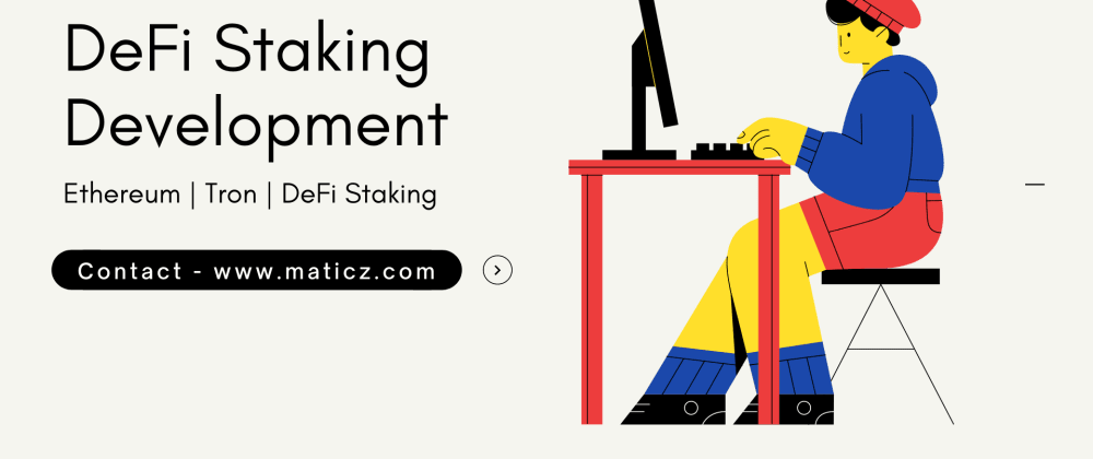 Cover image for DeFi Staking Development Company