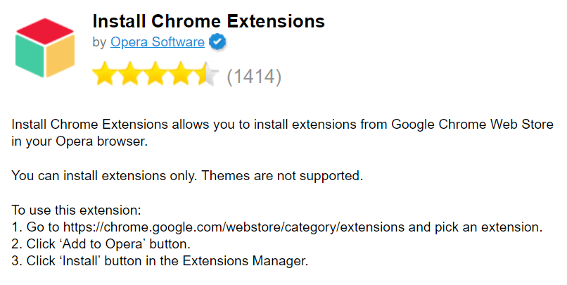 Install Chrome Extentions