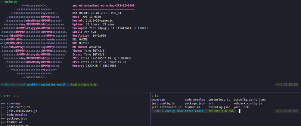 Cover image for Terminal Setup with Zsh + Tmux + Dracula Theme