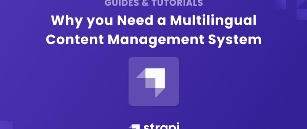 Cover image for Why you Need a Multilingual Content Management System