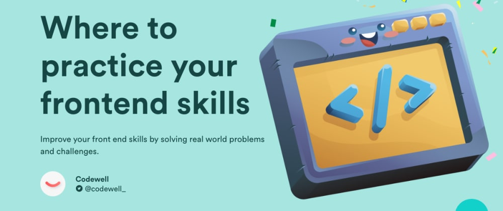 Cover image for 8 Websites to Practice Your Frontend Development Skills