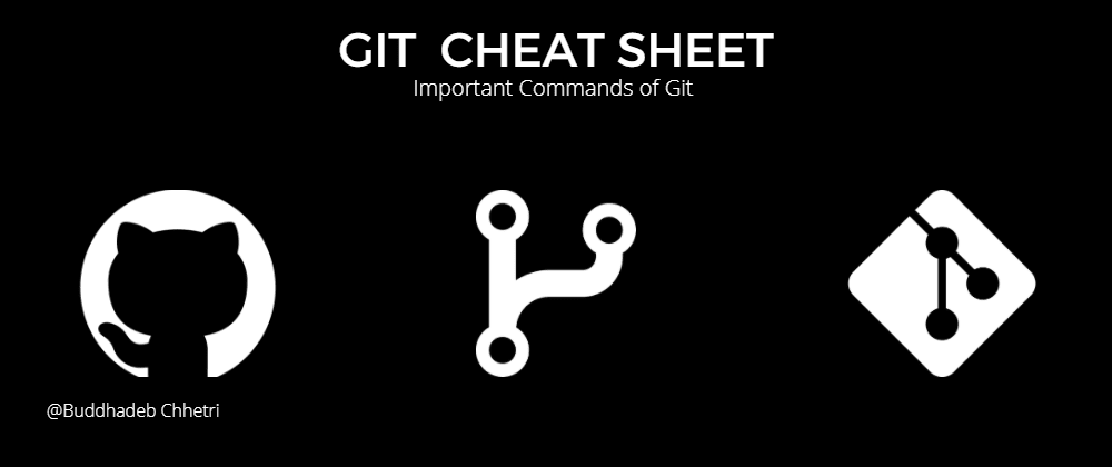 Cover image for Git Cheat Sheet