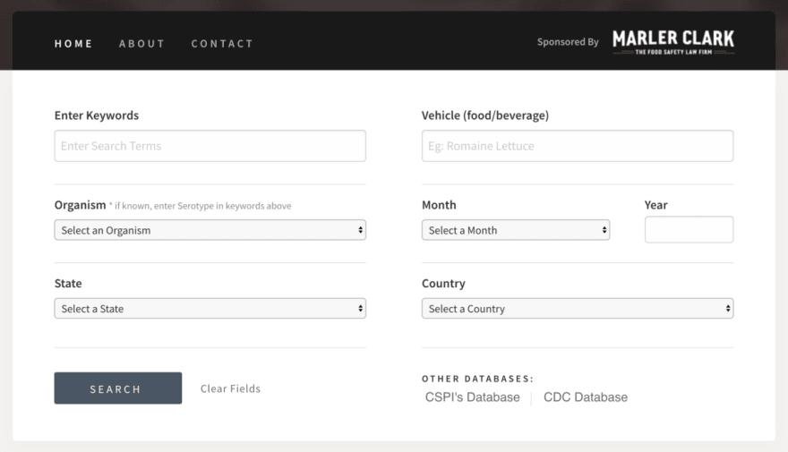 Updated outbreak database design