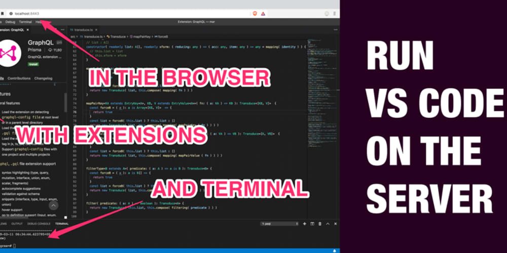 How to run VS Code on the server! - DEV Community 👩 💻👨 💻