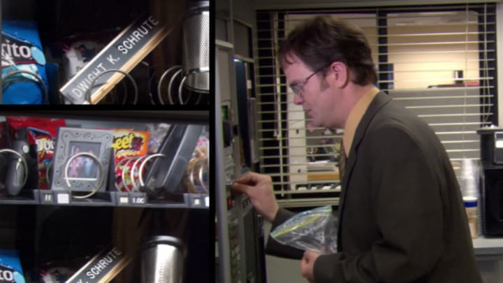 The Office - vending machine prank