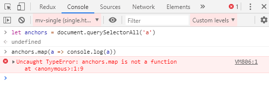 Can't map over NodeList object